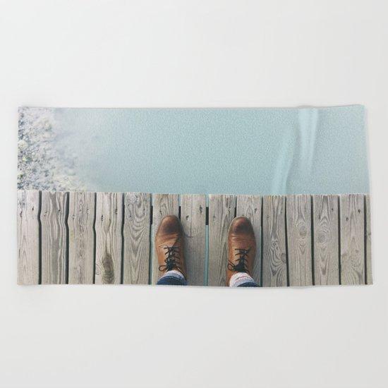 Wanderboots Beach Towel