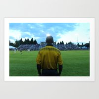 THE REF IS READY Art Print