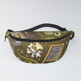 Beer Cheese Burgers Fanny Pack