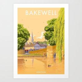 Bakewell, Derbyshire Art Print