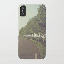 roadside trees iPhone Case