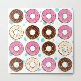 Sparkle Donuts Metal Print
