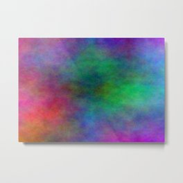 Colorful Clouds Metal Print