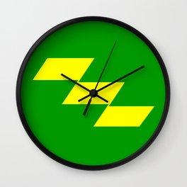 miyazaki region flag japan prefecture Wall Clock