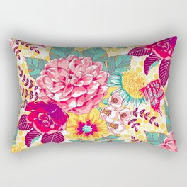 Bloomin' Beauties - Sunshine Rectangular Pillow