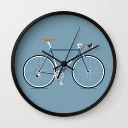 My Bike Dark Blue Wall Clock
