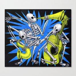Atomic Blues Canvas Print