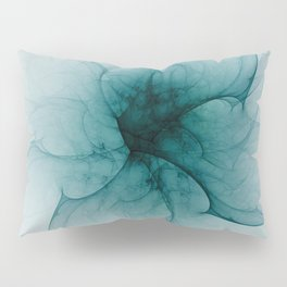Dark Flower Fractal Pillow Sham
