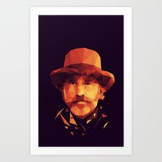 dr. King Schultz Art Print
