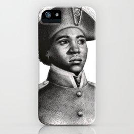 Suzanne Béliar, Haitian Freedom fighter iPhone Case