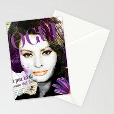 Sophia diva Italiana Stationery Cards
