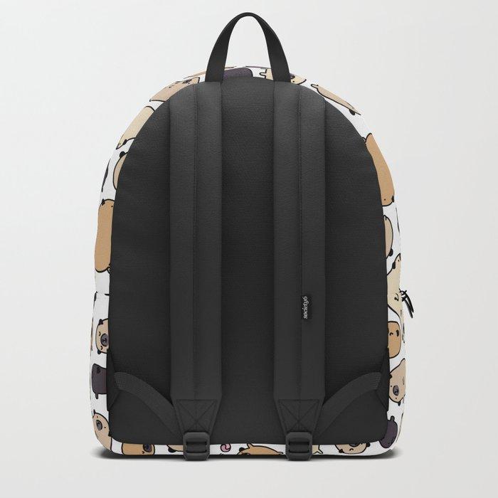 Pug Life Doodle Backpack
