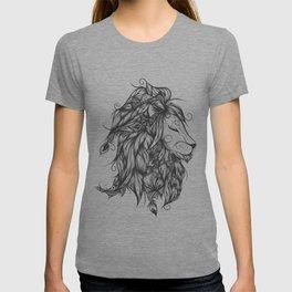 Poetic Lion B&W T-shirt