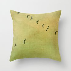 FLYING HIGH :) Throw Pillow