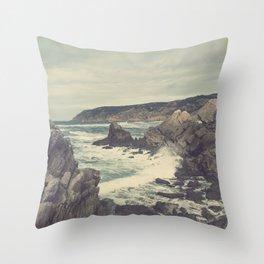 'Sea as far as you can see' Throw Pillow
