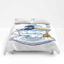 The Great Kanagawa Tee Comforters