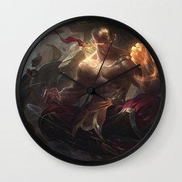 God Fist Lee Sin League Of Legends Wall Clock