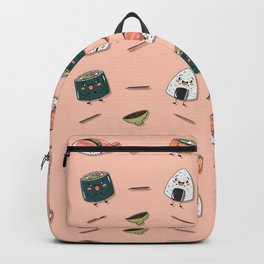 Cute sushi pattern Backpack
