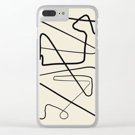Movements Clear iPhone Case