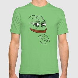 Smug Pepe the Frog T-shirt