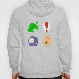 Animal Crossing Icons Hoody