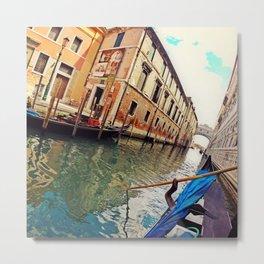 Veneza Metal Print