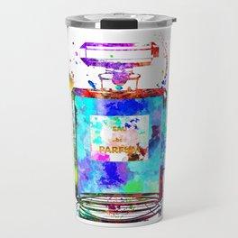 Parfum Blue Travel Mug