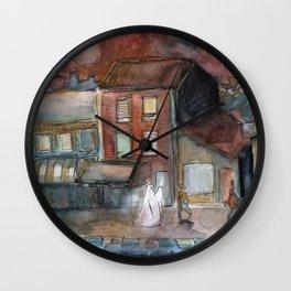 ghost urban Wall Clock