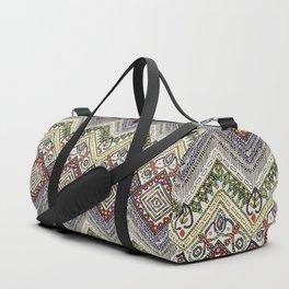 beaded chevron pearl Duffle Bag