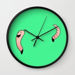Worm Wall Clock