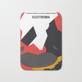 No556 My Electroma minimal movie poster Bath Mat