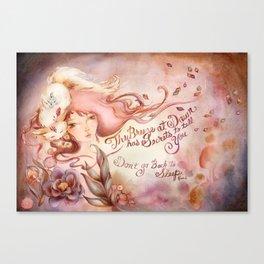 Dawn Secrets Canvas Print