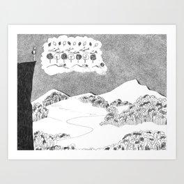 Big Picture, Small Picture Art Print