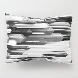 obelisk posture 2 (monochrome series) Pillow Sham