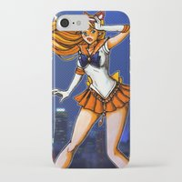 sailor venus iPhone & iPod Cases featuring Sailor Venus by Nelson Rodrigues