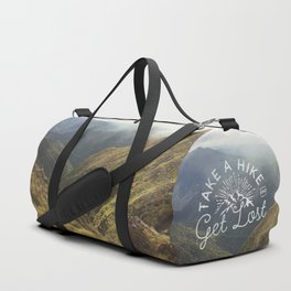 TAKE A HIKE and get lost Duffle Bag