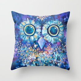 Visions in the Night Throw Pillow