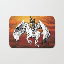 Boba Fett riding Pegasus Bath Mat