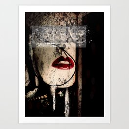 Bleeding Artisan Art Print