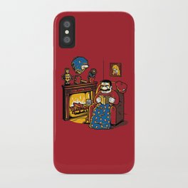 A Quiet Evening at Home iPhone Case