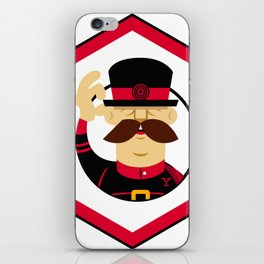 YeoMan Developer sticker iPhone Skin