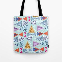 Geometric Mid Century Modern Triangles 2 Tote Bag