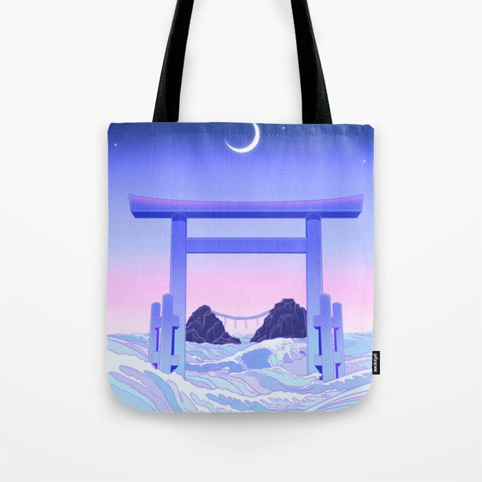 Floating World Tote Bag