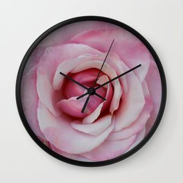 A rose from the mission gardens Wall Clock
