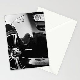 Rolls Rims // Black and White Luxury Super Car Photography Real Life Street Shots Stationery Cards