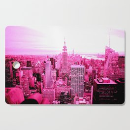 New York City Pink Cutting Board