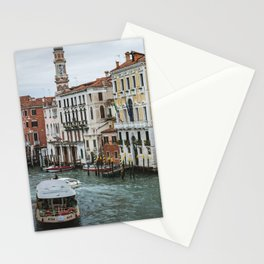 Waterbus on the Canal Grande Stationery Cards