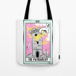 The Cards Say Smash the Patriarchy Tote Bag