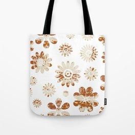 Shabby Flowers Tote Bag