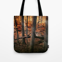 Sky Fire - surreal landscape photography Tote Bag